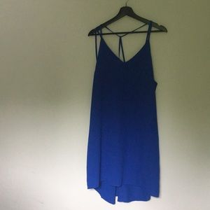 Xhilaration Blue Strappy Dress